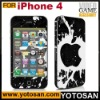 For iphone 4 color skin sticker cover