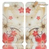 Free Shipping Rain Beautiful Form Raindrops Bump Feel Case Cover For iPhone 4 4S LF-0670
