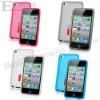 Free shipping,10pcs capdase protective case for iPod touch4 ,Soft Jacket 2 Xpose case for ipod touch 4 Gen #IP-350