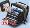 Genuine Leather credit card and money purse
