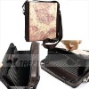 Genuine leather bag for 10'' tablets PC, bag for ipad 2--HOT SELLING!!!