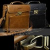 Genuine leather briefcase,leather briefcase for laptop ,leather laptop briefcase