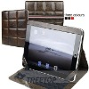 Genuine leather cover for iPad 2, top layer cow leather
