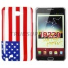 Glossy Hard Case Cover Flag Design for Samsung Galaxy Note i9220
