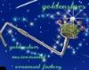 Golden stars Purse hangers-Y096