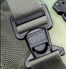 Good pull force plastic adjustabl insert buckle(K0103)