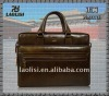 Good quality leather laptop bag new model