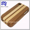 Good quality wooden shell housing for iphone 4