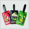 HOT promotional aniaml 3d soft pvc luggage tag
