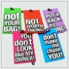 HOT promotional fancy soft pvc luggage tags