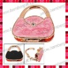 Handbag Shaped Bag Hanger/Purse Hook with Gold Plated
