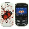 Happy Sweet Heart Design Silicone Skin Case Cover for Blackberry Curve 8520&8530