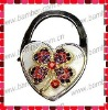Heart Bag Hanger/Heart Shell Purse Hook