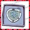 Heart Crsytal Bag Hanger/Purse Holder with Gift Box