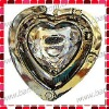Heart Crystal Bag Hanger with Mirror