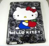 Hello Kitty Hard Companion back Case For iPad 2 Black