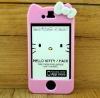 Hello kitty slide hard back case for iphone 4 4s