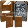 High quality PU leather case for Kindle Touch case--hot selling!!
