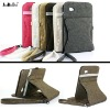 Hot !!! 360 degree rotatable denim jeans case for samsung galaxy tab 7.0 plus P6200