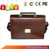 Hot Sales! Unique Leather Briefcase with Fingerprint Lock HF-FC01