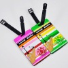 Hot-selling new design 10.5*6.5CM soft PVC luggage tag