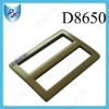 """Inner 1.3"""" Bronze Plated Bag Slide Buckle"""