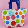 Insulation shopping bags with dot design