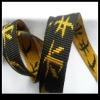 Jacquard nylon webbing for pet collars