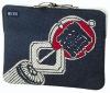 Japanese traditional textile pattern Cotton Laptop Case