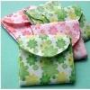 Ladies useful fabric storage sanitary napkin bag