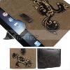Laser style with diamond leather case for ipad2 case--Hot selling!!!