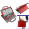 Leather Case with Holder Handbag for iPad 2