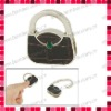 Leather Collection Foldable Purse Shaped Bag Hanger
