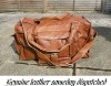 Leather Duffel Bags / Samples Available / PayPal Transfer