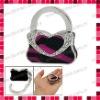 Leather Handbag Shaped Bag Hanger/Purse Hook