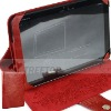 Leather case for Motolora Xoom case, exclusive top layer cow leather material