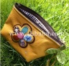 Little flower handmade cosmetic bag, wallets, purses