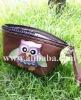 Little owl handmade cosmetic bag, wallets, purses