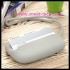 Lovely round silicon coin purse wallet with custome logo