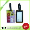 Low price soft pvc rubber luggage tags