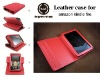 MOQ 300 leather case for Amazon Kindle Fire case