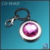 Metal Foldable Bag Hanger crystal Key Chain  CD-BH025
