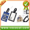 Mini Novelty Rubber Bag Plastic Luggage Tag