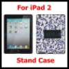 Multi-Angle Case with Stand for Apple iPad 2 (Black)