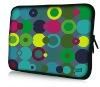 Neoprene laptop bags with heat transfer print
