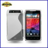 New Arrival S-line Wave Gel Case Cover for Motorola RAZR XT910, TPU Case, High Quality, Laudtec