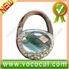 New Lock Shape W/Diamond Purse Hook Bag Handbag Hanger