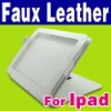 New White Faux Leather Case Skin Cover Pouch