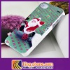 New arrival hard case for iphone4S with Christmas design