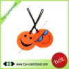New arrival novelty soft pvc rubber luggage tag